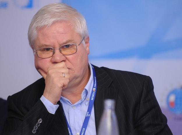 Jerzy Hausner z Rady Polityki Pieniężnej. Fot BARTOSZ KRUPA /PAP