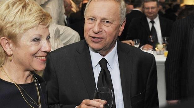 Jerzy i Barbara Stuhrowie są małżeństwem już ponad 40 lat. /AKPA