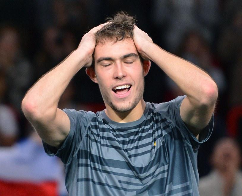 Jerzy Janowicz awansował do półfinału turnieju w Paryżu /AFP
