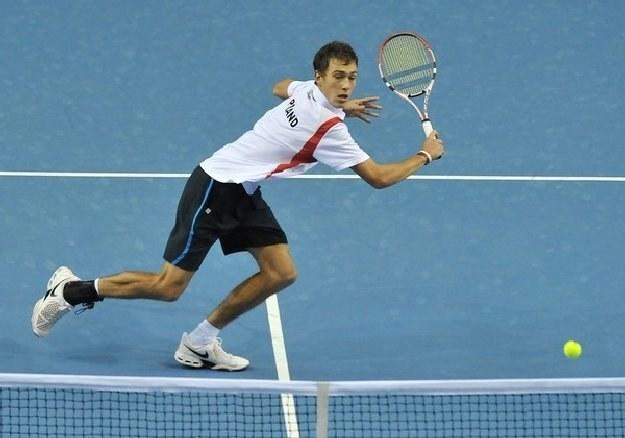 Jerzy Janowicz awansował o 22 miejsca w rankingu ATP /AFP