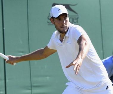 Jerzy Janowicz - Benoit Paire 2:6, 6:7 (3-7), 3:6 w trzeciej rundzie Wimbledonu