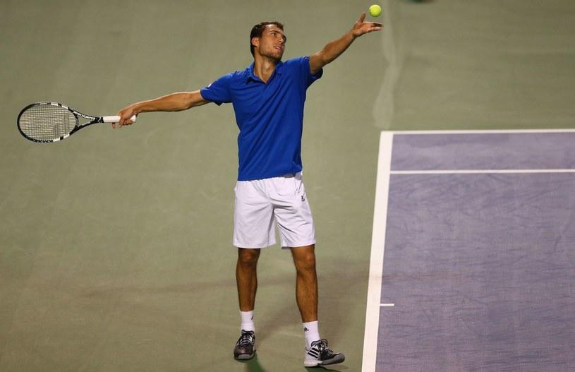 Jerzy Janowicz łapie wysoką formę przed US Open. /AFP