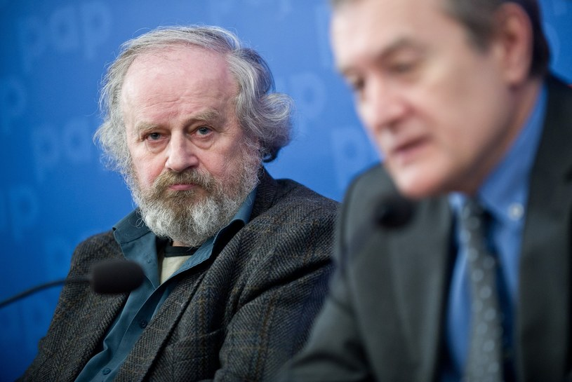 Jerzy Kalina i Piotr Gliński /Bartosz Krupa /East News