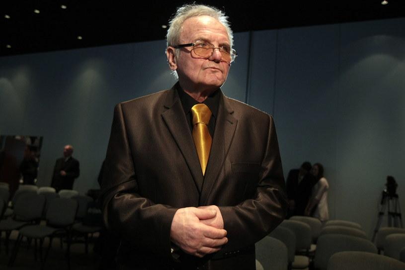 Jerzy Kulej był obecny podczas ceremonii wręczenia nagród fair play PKOL w Centrum Olimpijskim /Leszek Szymański /PAP