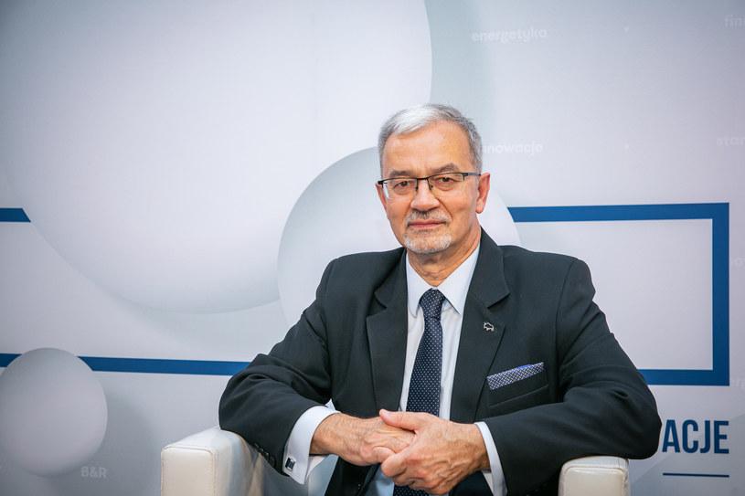Jerzy Kwieciński, były minister, a obecnie wiceprezes banku Pekao /Fot. Ireneusz Rek /INTERIA.PL