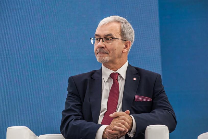 Jerzy Kwieciński, minister finansów oraz inwestycji i rozwoju, fot. Ireneusz Rek /INTERIA.PL