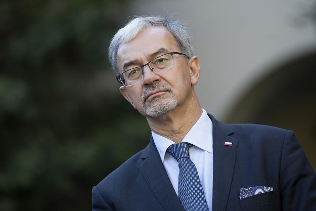 Jerzy Kwieciński, minister inwestycji i rozwoju. Fot. Jacek Szydłowski /FORUM