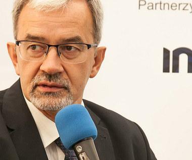 Jerzy Kwieciński, sekretarz stanu w resorcie rozwoju specjalnie dla Interii
