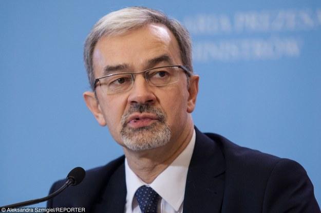 Jerzy Kwiecinski, wiceminister rozowju, fot. Aleksandra Szmigiel-Wisniewska /Reporter