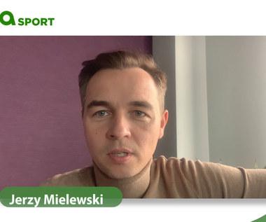 Jerzy Mielewski po meczu reprezentacji z Belgią, a przed meczem z Ukrainą. Wideo