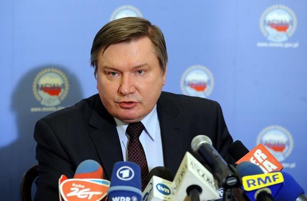 Jerzy Miller, fot. Grzegorz Jakubowski /PAP