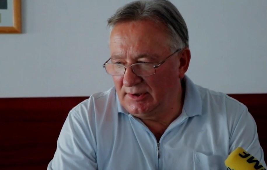 Jerzy Nagawiecki z MZPN /Jacek Skóra /RMF FM