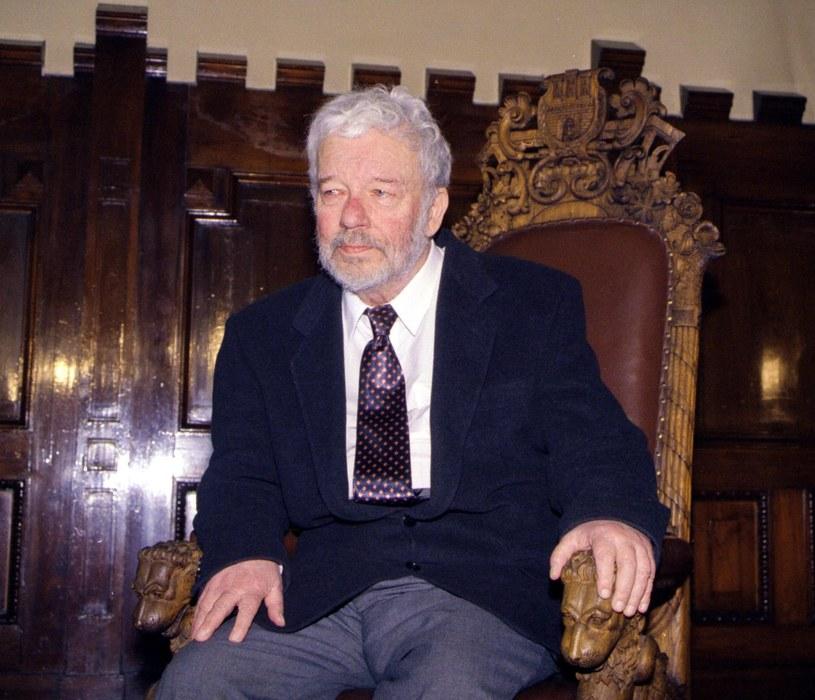 Jerzy Nowosielski - marzec 1998, fot. Anna Kaczmarz / Dziennik Polski / Reporter /East News