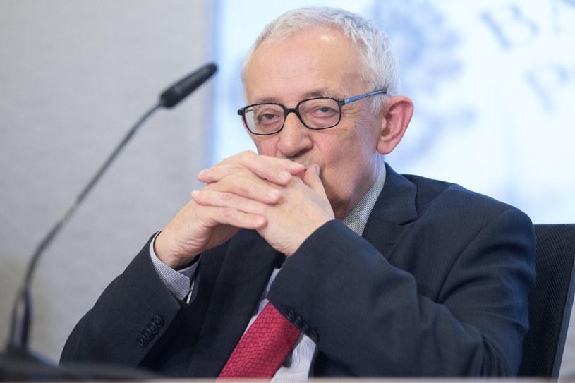 Jerzy Osiatyński prof. w Instytucie Nauk Ekonomicznych PAN, były ministrem finansów oraz były członek RPP. /Tomasz Jastrzębowski /Reporter