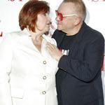 Jerzy Owsiak i jego żona Lidia Niedźwiedzka-Owsiak na imprezie. Ale czułości!