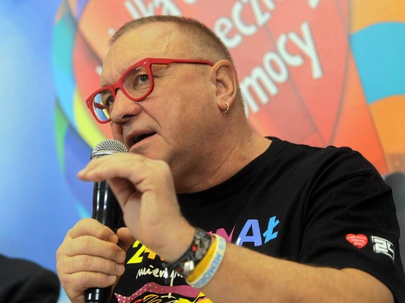Jerzy Owsiak, lider WOŚP /Przemek Wierzchowski /