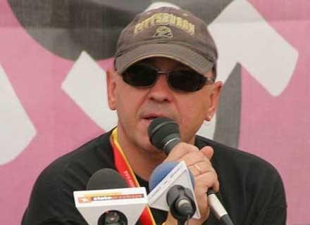 Jerzy Owsiak na Przystanku Woodstock 2006 /INTERIA.PL