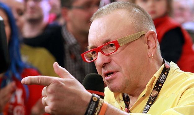 Jerzy Owsiak, pomysłodawca i prezes zarządu Fundacji WOŚP/fot. Radek Pietruszka /PAP