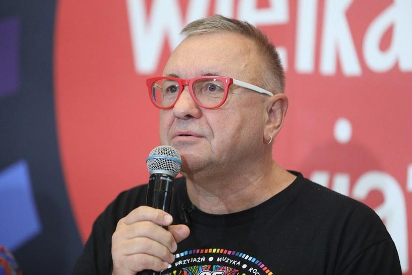 Jerzy Owsiak przeprasza /Tomasz Jastrzebowski/REPORTER /Reporter