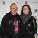 Jerzy Owsiak z córką