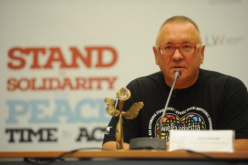 Jerzy Owsiak /Jacek Turczyk /PAP