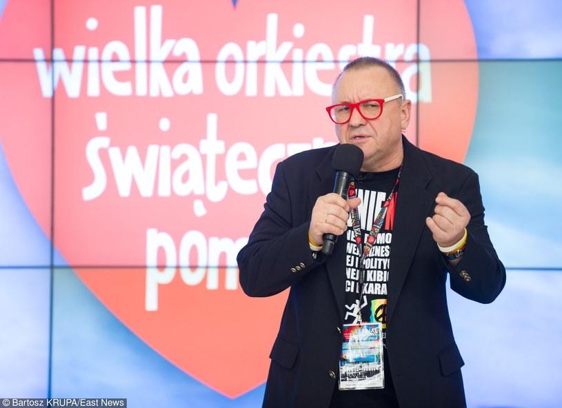 Jerzy Owsiak /Bartosz Krupa /East News