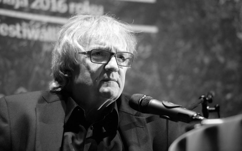 Jerzy Pilch na zdj. z 2016 roku /Jacek Turczyk /PAP