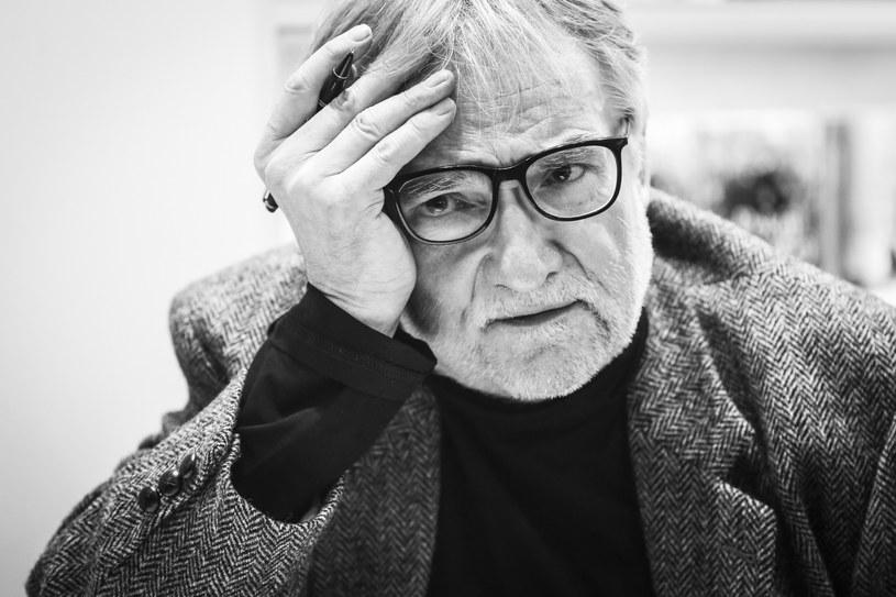 Jerzy Pilch zmarł 29 maja /Beata Zawrzel /Reporter