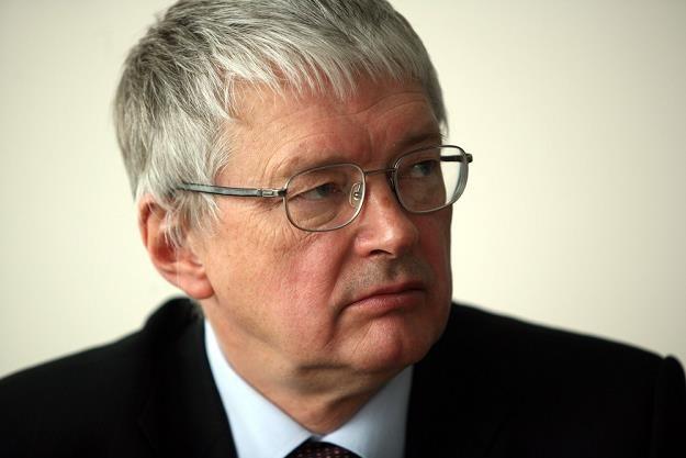 Jerzy Podsiadlo, prezes Węglokoksu. Fot. Andrzej Wawok /Reporter