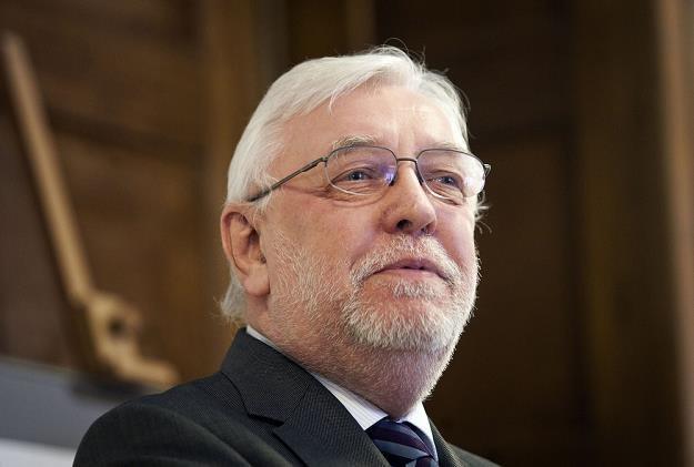 Jerzy Stępień, b. prezes Trybunału Konstytucyjnego. Fot. Adam Guz /Reporter