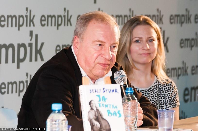 Jerzy Stuhr z córką Marianną /- /East News