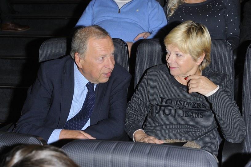 Jerzy Stuhr z żoną /Jarosław Antoniak /MWMedia