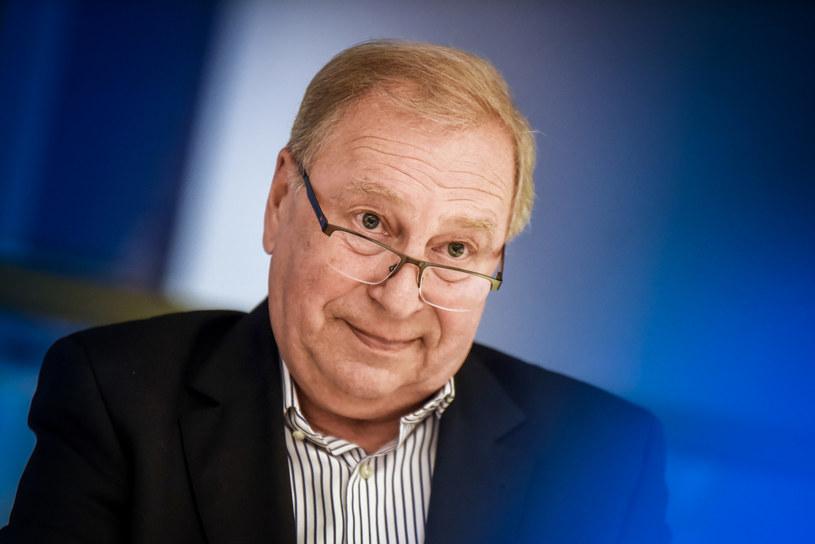 Jerzy Stuhr /Marek Lasyk  /Reporter