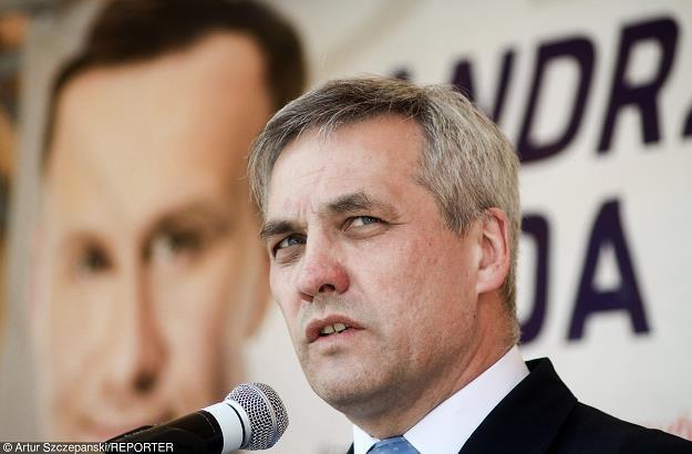 Jerzy Szmit, wiceminister infrastruktury. Fot Artur Szczepański /Reporter
