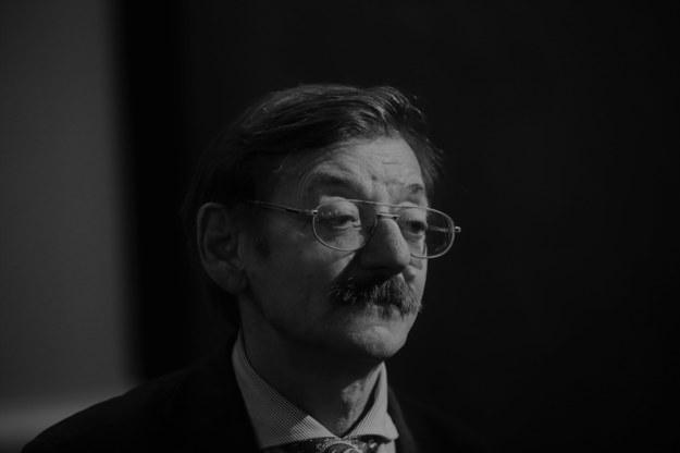 Jerzy Targalski. Zdjęcie z 2016 roku. /Rafał  Guz /PAP