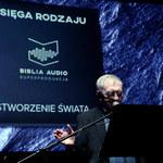 """Jerzy Trela w roli Boga w słuchowisku """"Biblia Audio superprodukcja"""""""