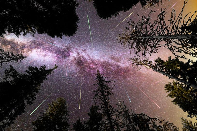 Jesień to także dobra pora do obserwacji meteorów, zdjęcie ilustracyjne /123RF/PICSEL