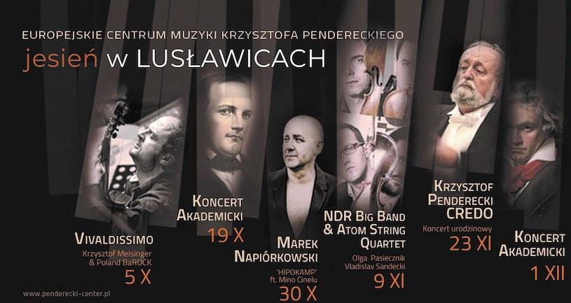 Jesień w Lusławicach to 6 wyjątkowych wydarzeń muzycznych /materiały prasowe