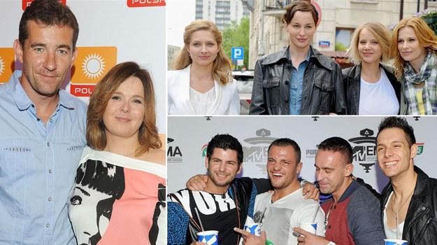 """Jesienią tylko Polsat zaprezentował widzom zupełnie nowe seriale (""""2XL"""", """"To nie koniec świata""""). Prawdziwą furorę wywołał natomiast uznany przez krytyków za żenujący, ale z chęcią oglądany przez widzów MTV - """"Warsaw Shore"""". /Agencja W. Impact"""