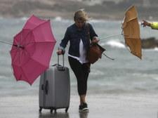Jesienny cyklon na Morzu Śródziemnym uderzył w Grecję