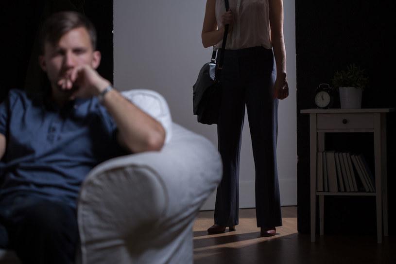 Jeśli chcesz się rozstać z partnerem to zrób to szybko i w jasny sposób /123RF/PICSEL