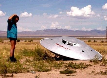 Jeśli myślisz, że to UFO, to pewnie masz stresującą pracę... /MWMedia