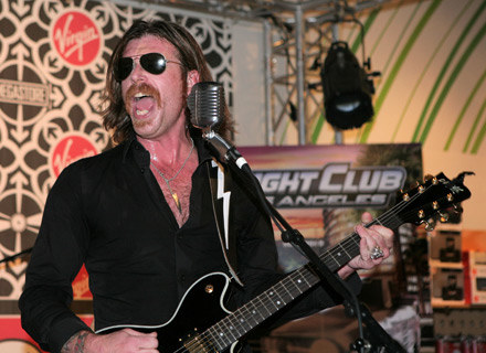 Jesse Hughes (Eagles Of Death Metal) - fot. Kevin Parry /Getty Images/Flash Press Media