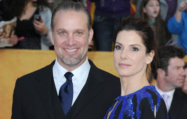 Jesse James i Sandra Bullock, fot. Frazer Harrison   /Getty Images/Flash Press Media