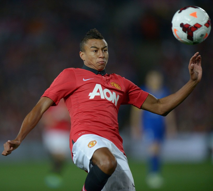 Jesse Lingard, młody talent Manchesteru United /AFP