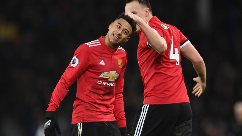 Jesse Lingard (z lewej) i Phil Jones /Getty Images