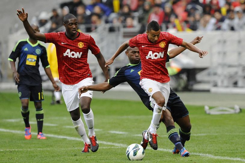 Jesse Lingard (z piłką) strzelił dwa gole dla Manchesteru United /AFP