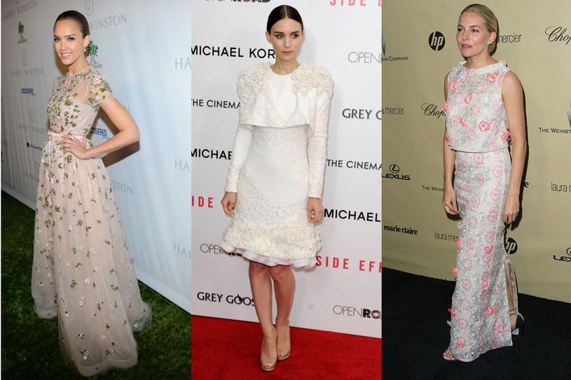 Jessica Alba, Rooney Mara, Sienna Miller /Getty Images