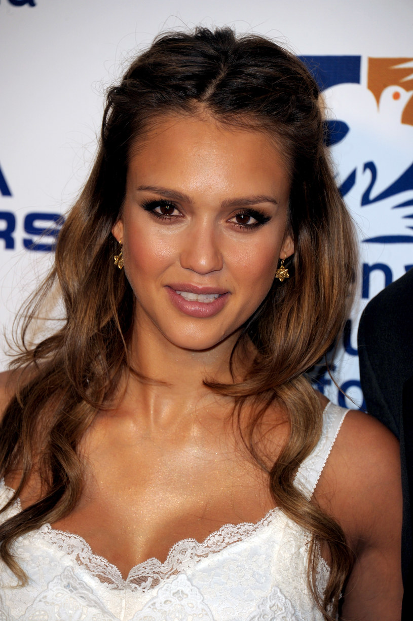 Jessica Alba /- /Getty Images