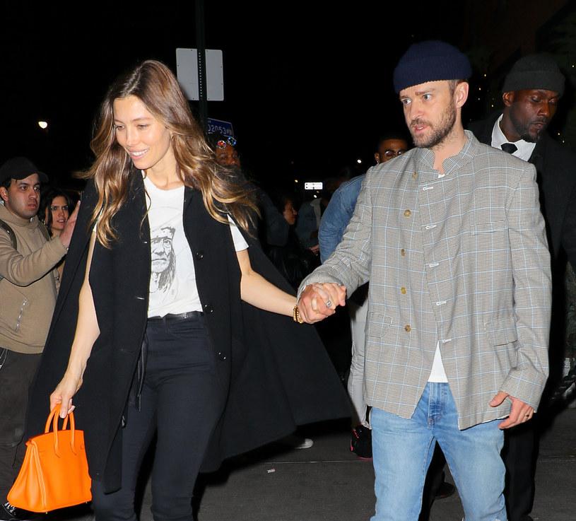 Jessica Biel i Justin Timberlake w marcu tego roku /Felipe Ramales / SplashNews.com /East News